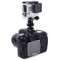 [SX] 1/4' Hot Shoe Adaptor With Tripod Mount For gO pRO 3 3  4