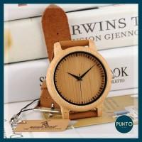 Jam tangan wanita kayu / Wooden Watch BOBO BIRD A09