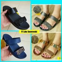 New!! Fitflop Lulu Slide Swarovski