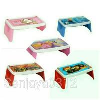 Meja Lipat Anak / Lap Desk / Napolly Meja Lipat Frozen / Meja Belajar