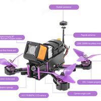 Drone Eachine Wizard X220S FPV Racer 30A RTF