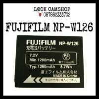 Battery / Baterai FUJIFILM NP-W126 For FUJI XM1 XA1 XA2 XA3 XT Limited