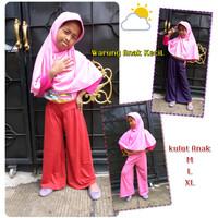 Celana Kulot Anak size L 7 - 9 tahun | Celana Panjang Anak Perempuan