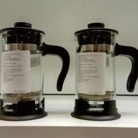 IKEA UPPHETTA COFFEE TEA MAKER FRENCH PRESS 0,4L