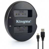 Kingma Charger Baterai 2 Slot Olympus E 620 E 420 E 410 E 400 BLS1 Bla