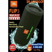 Jual JBL Flip 3 Splashproof Portable Bluetooth Speaker With Speakerphone Murah