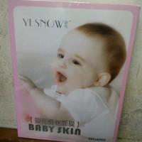 Harga murah yesnow mask face baby skin masker muka baby selembut | Pembandingharga.com