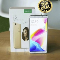 HP OPPO F5 RAM 4GB ROM 32GB DISTRIBUTOR  RESMI READY STOK  BLACK/GOLD