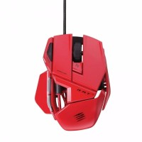 Mad Catz PC MCZ R A T 3 rat 3 Mouse Gaming Red MCB437030013 04 1