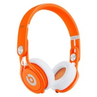 Beats Mixr Neon Orange DJ Headphones by dr dre
