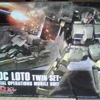 gundam bandai HG loto twin set d 50c