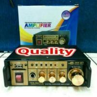 ampli mini targa usb sd dan karaoke ac/dc