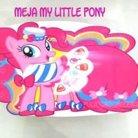 Meja Belajar Lipat My Little Pony Meja Lesehan Meja Gambar Foldable