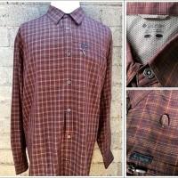 Columbia Omni Shield In-Transit Outdoor Shirts/Kemeja Original (Marun)