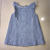 Baju / Dress Bayi/Anak Perempuan ZARA baby BLUE
