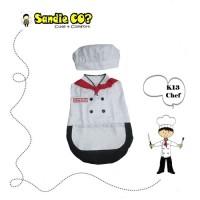 Jual Kostum Chef Baju Bayi Koki Lucu Murah