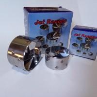 Turbo Ventilator Jet Ranger SINGLE, PENGHEMAT BENSIN [MOTOR]