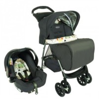 Stroller Graco Mirage Plus Travel System Bowtie Bear
