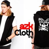 Rompi Vest Zipper bullet club - cloth merch