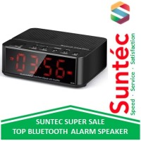 Taffware Radio Portable KD-66 Desktop Bluetooth Speaker Alarm Clock