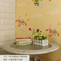 5263 wallpaper stiker uk 45cmx10m, spongebob kuning