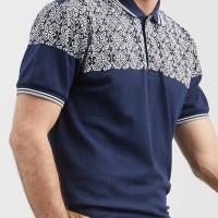 Kaos polo shirt pria POSHBOY branded original motif 1