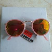 kacamata korea kacamata bulat oval fashion pink kaca terang trendy hit acd134079f