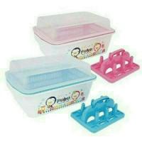 puku nursery container / rak pengering botol