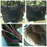 CASUAL BLACK SHOULDER BAG
