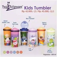 botol plastik anak lucu kidz Tumbler Tulipware