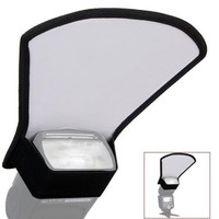 Camera Flash Diffuser Sector Shape Softbox Silver and White