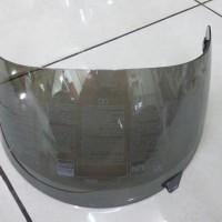 kaca helm agv k3 iridium silver original