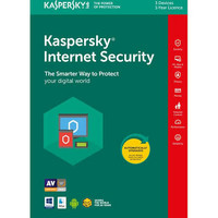 KASPERSKY Internet Security 2018 3 Pc 1 year