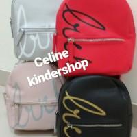 MINISO Fashionable Handheld Backpack/Tas Ransel Wanita/Backpack wanita