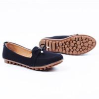 Harga sepatu wanita flatshoes rajut wanita pita | Pembandingharga.com