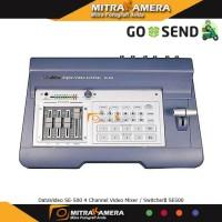 DataVideo SE-500 4 Channel Video Mixer / Switcher SE500 Diskon
