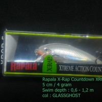 RAPALA X-RAP COUNTDOWN XRCD-05 GLASS GHOST
