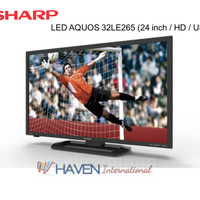 [MURAH] TV Sharp 32LE265 / LED 32 inch / Full HD / USB MOVIE