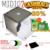 MagicBox Midio 2 Portable Mini Photo Studio Light Box 50x50x45cm