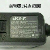 Adaptor/Charger Original For Acer L1410 Iconia Tablet A100 (12V - 2A)