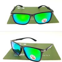 Kacamata Sunglass Rayban Ray-Ban Carbon 4129 RB4129 Polarized Blue