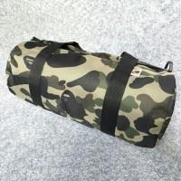 A Bathing Ape BAPE Camo Duffle Bag Gym Bag
