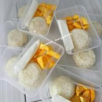 mango sticky rice ketan mangga / cemilan sehat