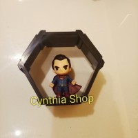 Hexagon justice league figure batman superman wonder woman xxi