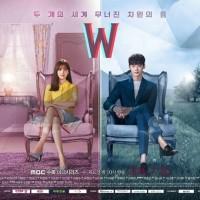 Film DVD serial drama korea W Two Worlds (isi 4 disc)