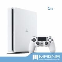 PS4 Slim Console 1TB - Glacier White