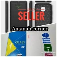 Bundling Hemat!!! Premium Case Moto G5s Plus + Tempered Glass screen