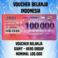 Voucher Belanja Giant 100 rb