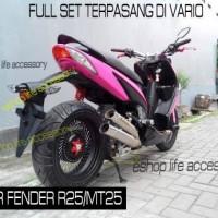 Full Set Spatbor Yzf R25 rear fender spakbor motor sport Yamaha