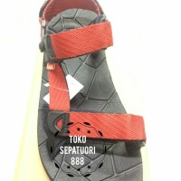 SG3M[Kasogi]Sandal Gunung Cowok/Pria/Lak-laki Casual || Merah